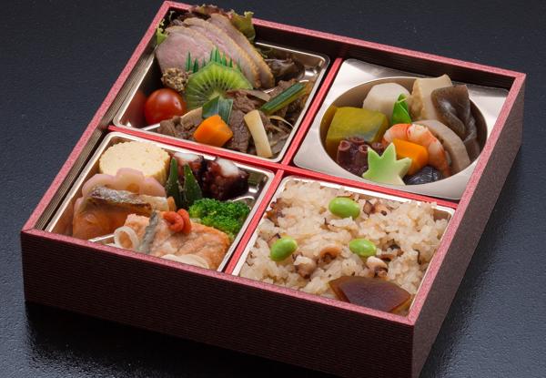 季節弁当(蛸飯)