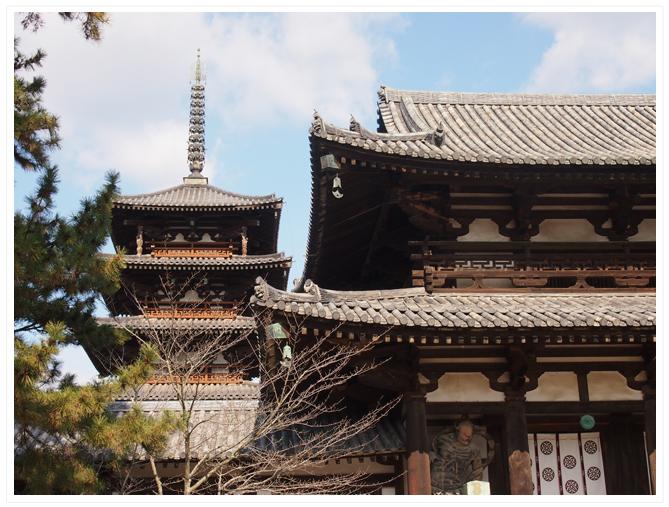 奈良 ― 法隆寺